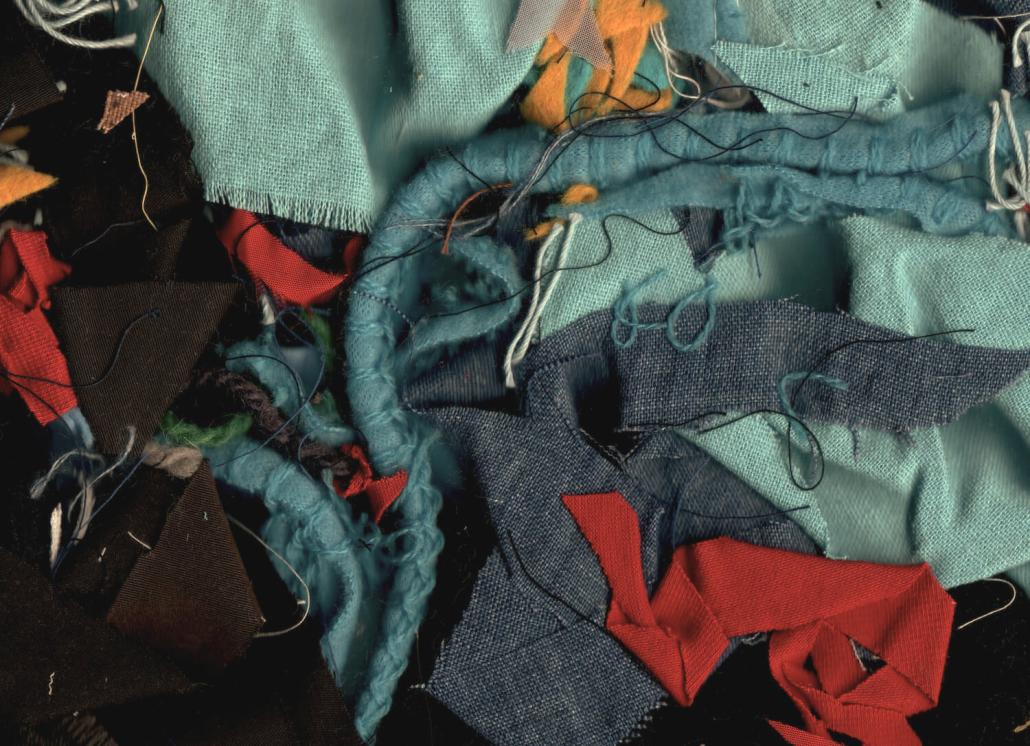 Fashion production leftover waste